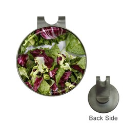Salad Lettuce Vegetable Hat Clips With Golf Markers by Sapixe