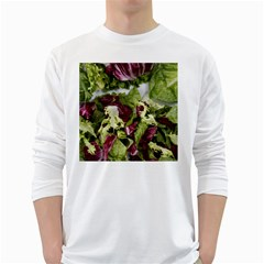 Salad Lettuce Vegetable Long Sleeve T Shirt by Sapixe