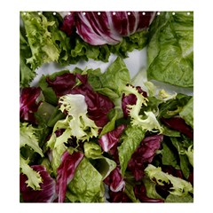 Salad Lettuce Vegetable Shower Curtain 66  X 72  (large)  by Sapixe
