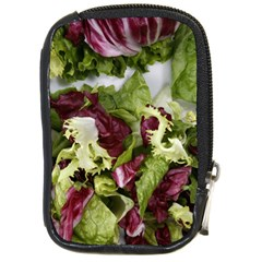 Salad Lettuce Vegetable Compact Camera Leather Case by Sapixe