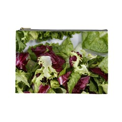 Salad Lettuce Vegetable Cosmetic Bag (large) by Sapixe