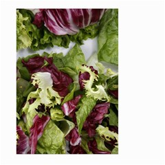 Salad Lettuce Vegetable Large Garden Flag (two Sides) by Sapixe