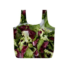 Salad Lettuce Vegetable Full Print Recycle Bag (s) by Sapixe