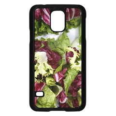 Salad Lettuce Vegetable Samsung Galaxy S5 Case (black)