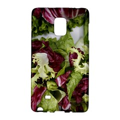 Salad Lettuce Vegetable Samsung Galaxy Note Edge Hardshell Case by Sapixe