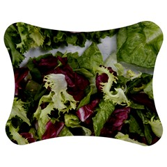 Salad Lettuce Vegetable Jigsaw Puzzle Photo Stand (bow) by Sapixe