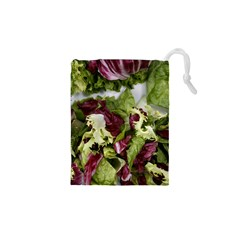 Salad Lettuce Vegetable Drawstring Pouch (xs)