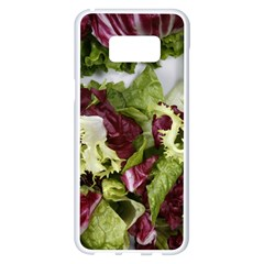 Salad Lettuce Vegetable Samsung Galaxy S8 Plus White Seamless Case