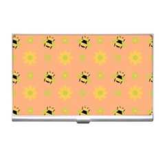 Bee A Bug Nature Wallpaper Business Card Holder