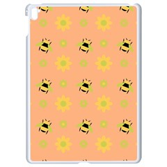 Bee A Bug Nature Wallpaper Apple Ipad Pro 9 7   White Seamless Case