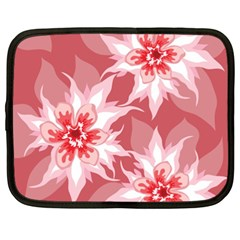 Flower Leaf Nature Flora Floral Netbook Case (xxl) by Sapixe