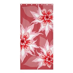 Flower Leaf Nature Flora Floral Shower Curtain 36  X 72  (stall)