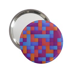Squares Background Geometric Modern 2 25  Handbag Mirrors by Sapixe