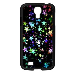 Christmas Star Gloss Lights Light Samsung Galaxy S4 I9500/ I9505 Case (black) by Sapixe