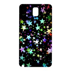 Christmas Star Gloss Lights Light Samsung Galaxy Note 3 N9005 Hardshell Back Case by Sapixe