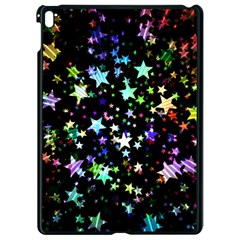 Christmas Star Gloss Lights Light Apple Ipad Pro 9 7   Black Seamless Case