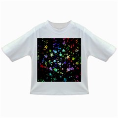 Christmas Star Gloss Lights Light Infant/toddler T Shirts by Sapixe