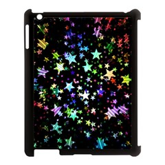 Christmas Star Gloss Lights Light Apple Ipad 3/4 Case (black) by Sapixe