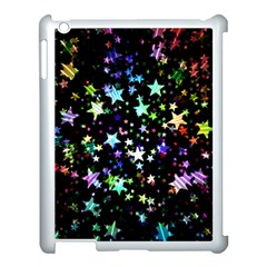 Christmas Star Gloss Lights Light Apple Ipad 3/4 Case (white)