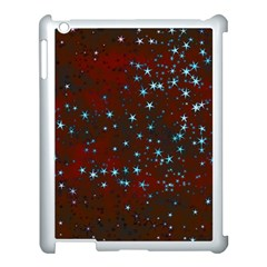 Background Christmas Decoration Apple Ipad 3/4 Case (white) by Sapixe