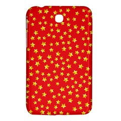 Pattern Stars Multi Color Samsung Galaxy Tab 3 (7 ) P3200 Hardshell Case  by Sapixe
