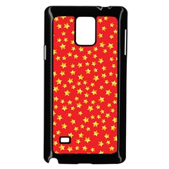 Pattern Stars Multi Color Samsung Galaxy Note 4 Case (black) by Sapixe