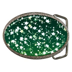 Christmas Star Advent Background Belt Buckles