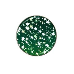 Christmas Star Advent Background Hat Clip Ball Marker (4 Pack) by Sapixe