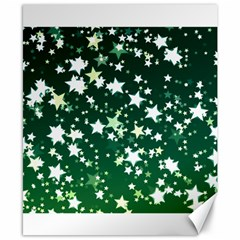 Christmas Star Advent Background Canvas 8  X 10