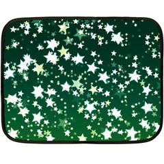 Christmas Star Advent Background Double Sided Fleece Blanket (mini)