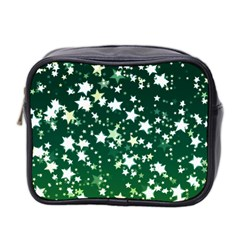 Christmas Star Advent Background Mini Toiletries Bag (two Sides)