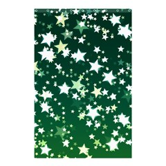 Christmas Star Advent Background Shower Curtain 48  X 72  (small)  by Sapixe