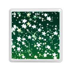 Christmas Star Advent Background Memory Card Reader (square)