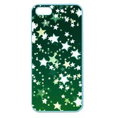 Christmas Star Advent Background Apple Seamless Iphone 5 Case (color) by Sapixe