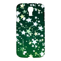 Christmas Star Advent Background Samsung Galaxy S4 I9500/i9505 Hardshell Case by Sapixe
