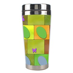 Easter Egg Happy Easter Colorful Stainless Steel Travel Tumblers