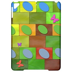 Easter Egg Happy Easter Colorful Apple Ipad Pro 9 7   Hardshell Case by Sapixe