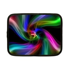 Abstract Art Color Design Lines Netbook Case (small) by Sapixe