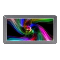 Abstract Art Color Design Lines Memory Card Reader (mini)
