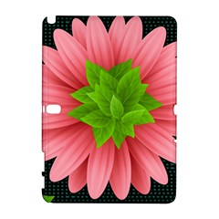 Plant Flower Flowers Design Leaves Samsung Galaxy Note 10 1 (p600) Hardshell Case