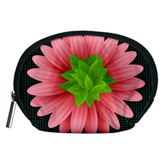 Plant Flower Flowers Design Leaves Accessory Pouch (medium) by Sapixe