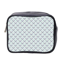 Sparkly Diamond Pattern Mini Toiletries Bag (two Sides)