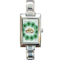 Rings Heart Love Wedding Before Rectangle Italian Charm Watch