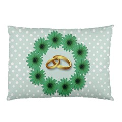 Rings Heart Love Wedding Before Pillow Case (two Sides) by Sapixe