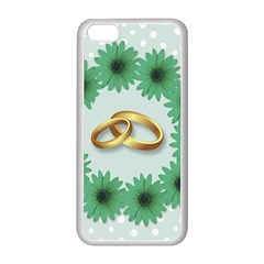 Rings Heart Love Wedding Before Apple Iphone 5c Seamless Case (white) by Sapixe