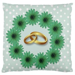 Rings Heart Love Wedding Before Standard Flano Cushion Case (one Side) by Sapixe