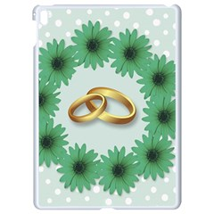 Rings Heart Love Wedding Before Apple Ipad Pro 9 7   White Seamless Case by Sapixe