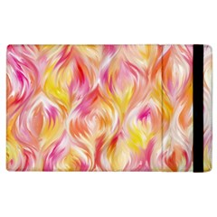 Pretty Painted Pattern Pastel Apple Ipad 3/4 Flip Case by Sapixe