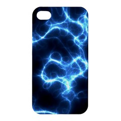 Electricity Blue Brightness Bright Apple Iphone 4/4s Hardshell Case by Sapixe