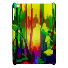 Abstract Vibrant Colour Botany Apple Ipad Mini Hardshell Case by Sapixe